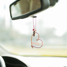 Car Dangle with Silver Charms