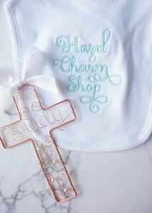 Cross Baptism Ornament