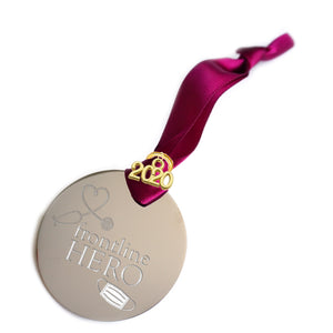 Frontline Hero Ornament, Essential Worker Gift