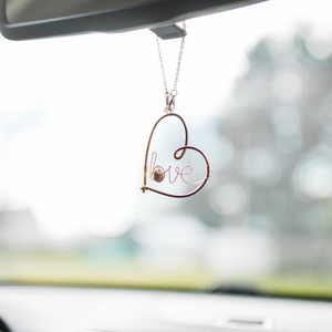 Family Tree Car Charm