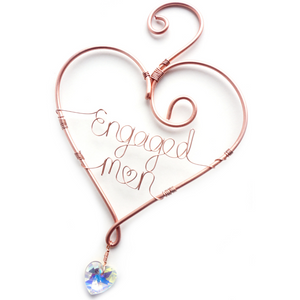 Heart and Crystal Keepsake