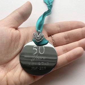50 Years Anniversary Ornament