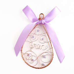 Amethyst Ornament