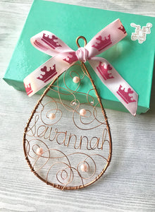 Princess Themed Ornament