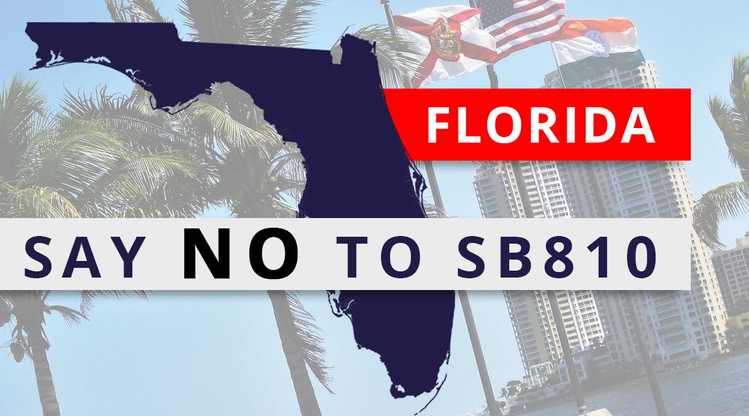 What will Governor DeSalis do about SB 810?