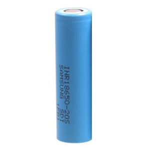 Samsung 18650 2000mAh 20S Flat Top Batteries (Blue) (1 Pk)