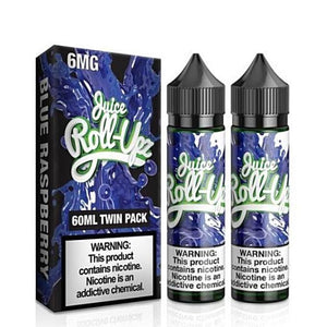 Juice Roll Upz Blue Raspberry (2 x 60mL bottles) - VapeNW