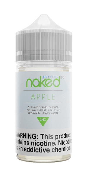 Naked 100 Menthol Apple