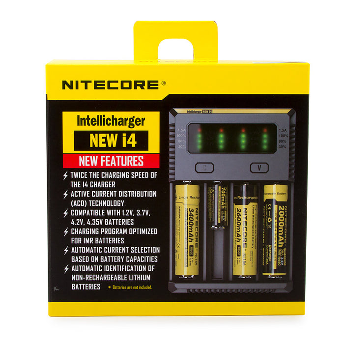 Nitecore Sysmax I4 Charger