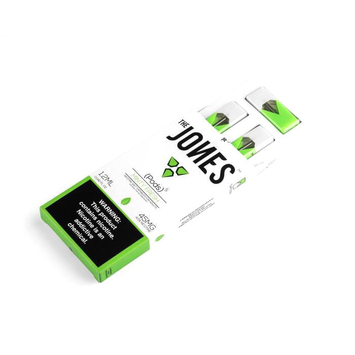 The Jones Pre-Filled JUUL Compatible Pods Minty Fresh (5 Pk)