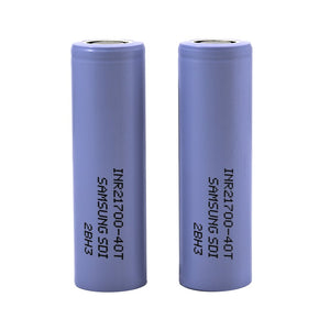 Samsung 40T 21700 4000mAh 30A Battery (Purple) (1 Pk)