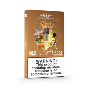 Kilo 1K Replacement Pods Nutty (4 Pk)