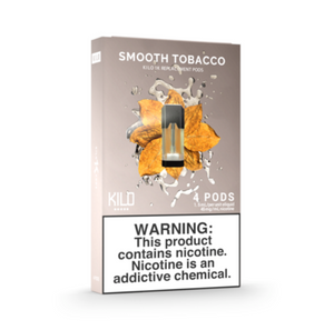 Kilo 1K Replacement Pods Smooth Tobacco (4 Pk)
