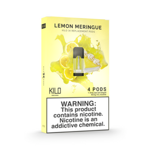 Kilo 1K Replacement Pods Lemon Meringue (4 Pk)