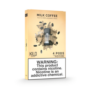 Kilo 1K Replacement Pods Milk Coffee (4 Pk)