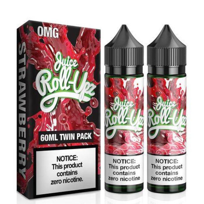 Juice Roll Upz Strawberry (2 x 60mL bottles)