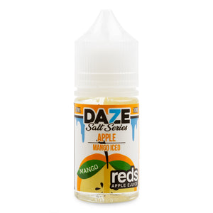 7 Daze Reds Salt Apple Mango Iced - VapeNW