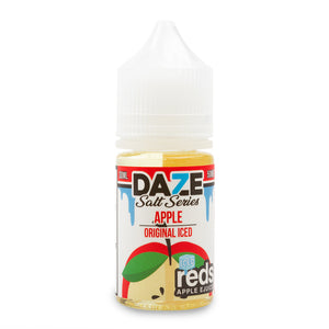 7 Daze Reds Salt Apple Iced - VapeNW