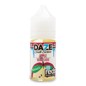 7Daze Reds Salt Apple Berries Iced - ovapor