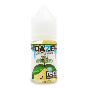 7Daze Reds Salt Watermelon Iced - VapeNW