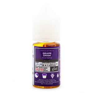 Glas Basix Salt Grape Drink - VapeNW