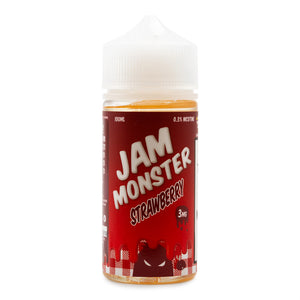 Jam Monster Strawberry Jam - ovapor