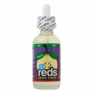 7 Daze Reds Apple Grape Iced - VapeNW