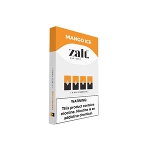 Zalt Pre Filled JUUL Compatible Pods Mango Ice (4 Pk) - VapeNW