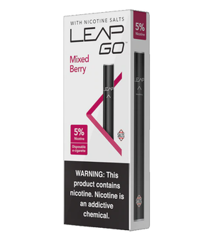 Leap Go Smooth Mixed Berry Disposable E-Cigarette