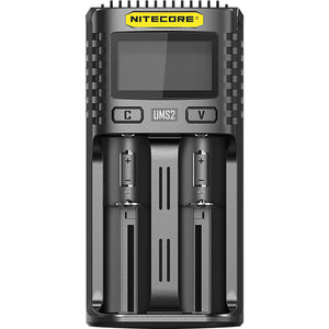Nitecore Ums2 Intelligent USB Dual Slot Charger