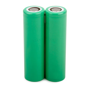 Samsung 25r 18650 2500mAh 3.7V Flat Top Battery 20A (2 Pk)