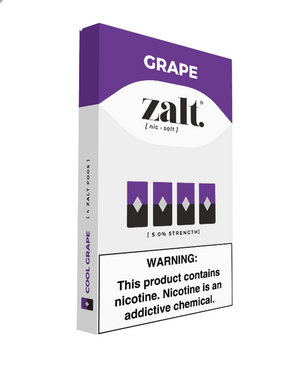 Zalt Pre Filled JUUL Compatible Pods Grape (4 Pk)