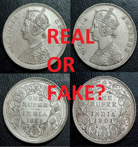 Testing Coins, Fake, Real, Test, Silver