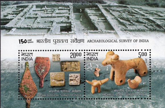 Archaeological Survey of India 150 years - 2012