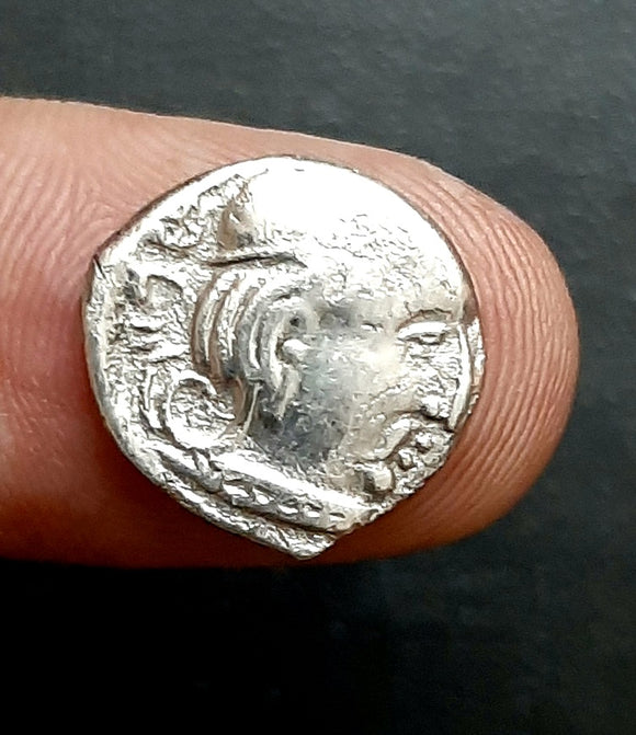 Ancient, Coin, Kshatrap, Silver