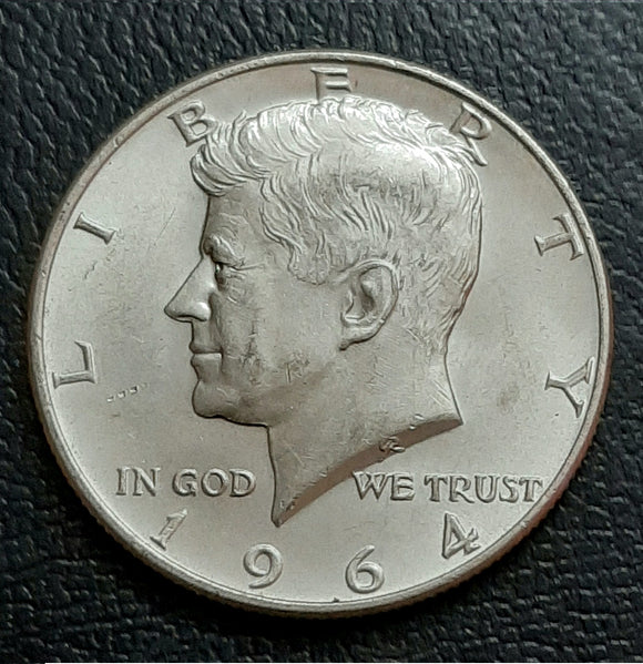 Kennedy Silver Half Dollar, 1964, USA