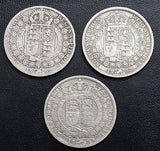 Half Crown, Silver, Victoria, Jubilee Head