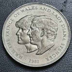 25 Pence, Royal Wedding (1981), UK