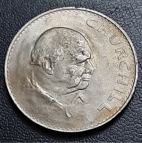 1 Crown (5 Shillings), Winston Churchill, 1965