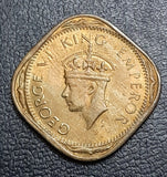 2 Anna, George VI, India, Coin, uncirculated