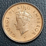1/12 Anna, George VI, 1939, Uncirculated