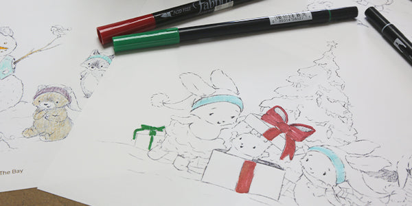 FREE Holiday Themed Coloring Pages