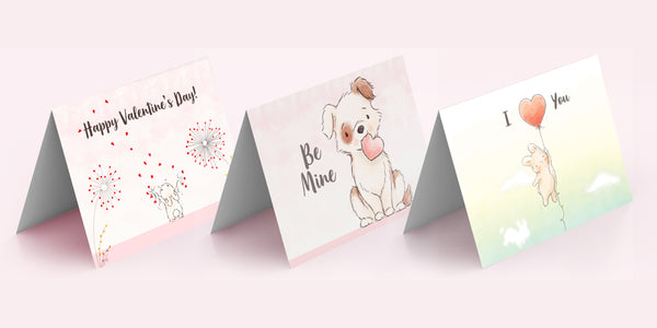 Free Print-At-Home Valentine Cards