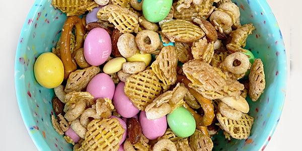 Easter Bunny Tracks Trail Mix