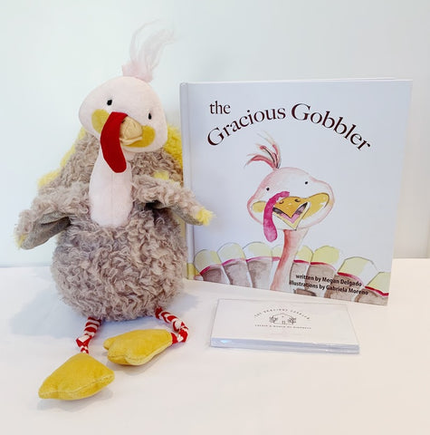 Gracious Gobbler Book and Plush Turkey