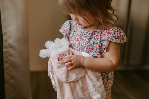 Little Girl With Lovey