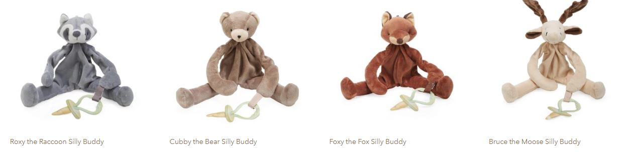Silly Buddy Pacifier Holders