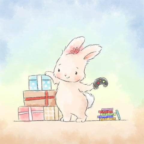 Tiffany Bunny Art