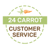24 Carrot Customer Service Guarantee