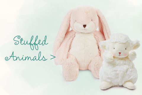 Easter Stuffed Bunnies and Animals